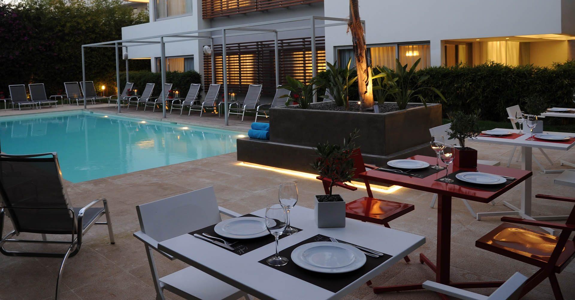 restaurant hotel athens - Brasil Suites